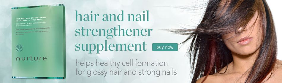 nurture hair and nail strengthener supplement